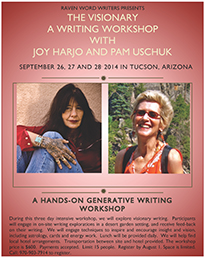 Writing Workshop with Joy Harjo and Pam Uschuk