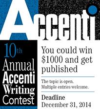 Accenti Writing Contest