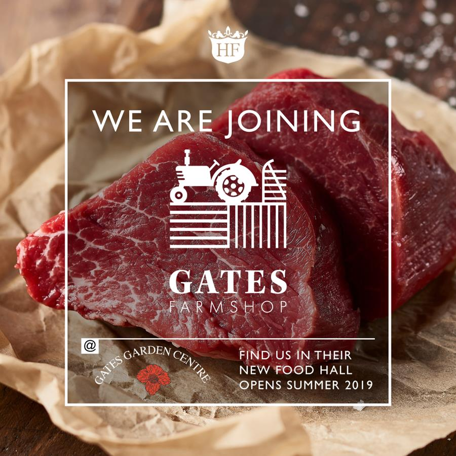 We are opening a new store late this summer at Gates Garden Centre