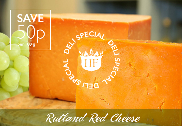 Rutland Red Cheese