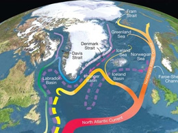 Sluggish Ocean Currents Caused European Heat Wave
