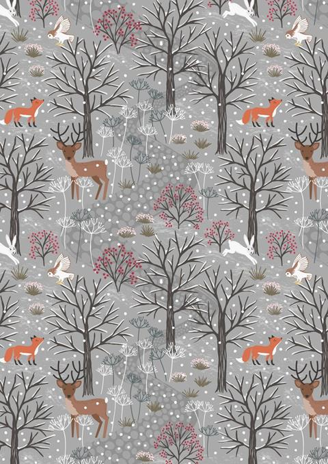 Winter in Bluebell Wood at Cary Quilting