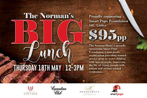 The Norman's big lunch