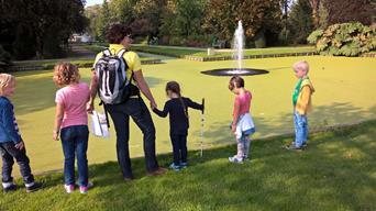 Foto kinderen in Plaswijckpark