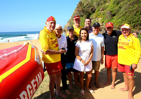 Lifesaving Legend Hangs Up Cap