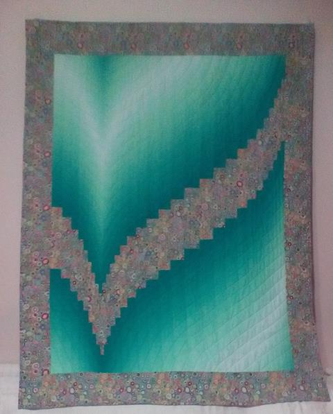 Two Fabric Bargello Class