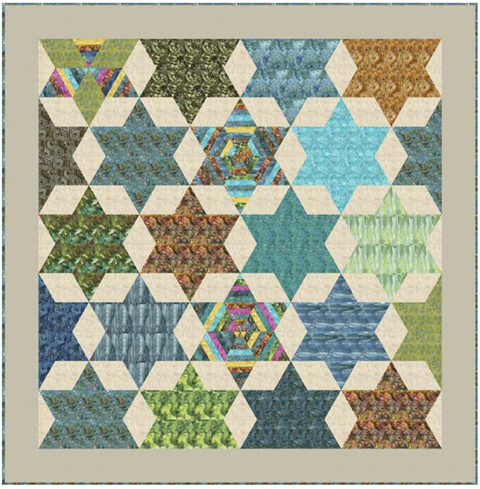 Free Quilt Pattern by Edyta Sitar