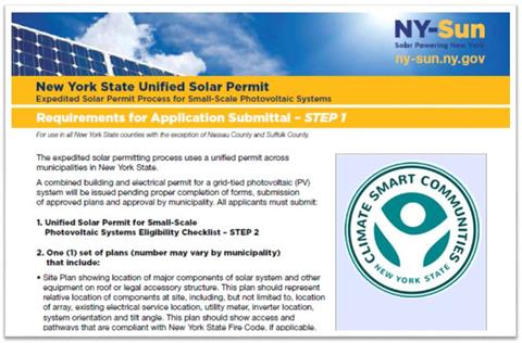 Download the NYS Unified Solar Permit