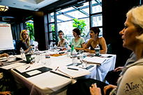 NYC workshop at Library Hotel's Writers Den