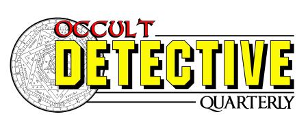 Occult Detective Quarterly Logo