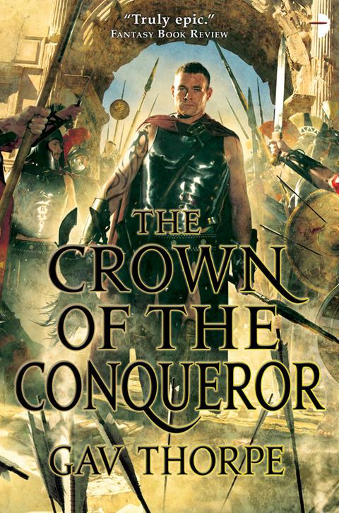 Cover of The Crown of the Conqueror by Gav Thorpe