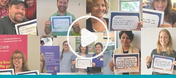 regardez la vidéo Pledge for Change