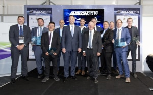 The host of winners from the Innovation Awards include technologies ranging from aerial camera systems to non-destructive testing. Avalon 2019