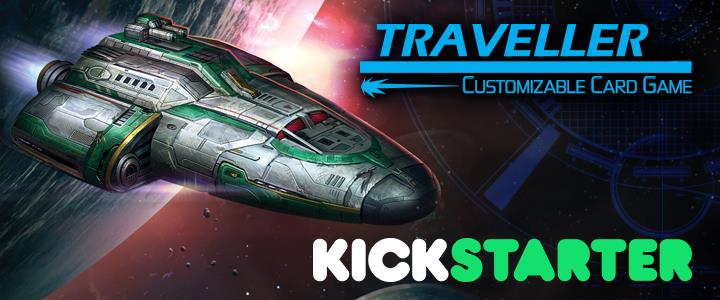 Traveller Card Game Kickstarter Logo