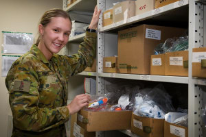 """Logistics is getting materiel """"to the right person, in the right place, and at the right time."""" Defence"""