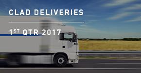 Clad Deliveries