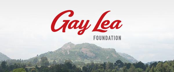 Logo for the Gay Lea Foundation