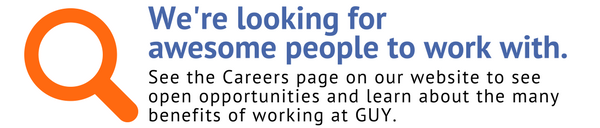 Come work at GUY!
