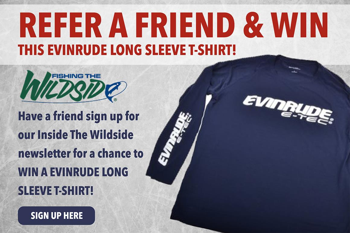 Refer a Friend and Win This Long Sleeve T-Shirt