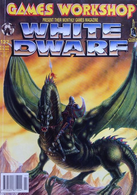 Cover of White Dwarf 127