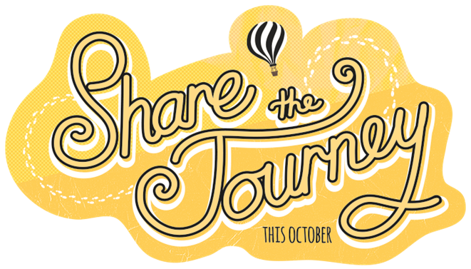Share the Journey this October