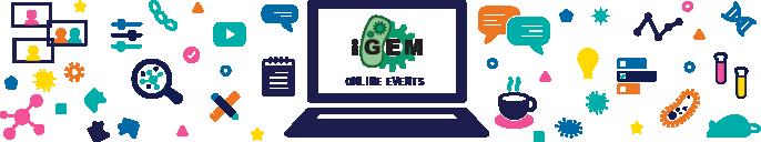 img: iGEM Online Events banner