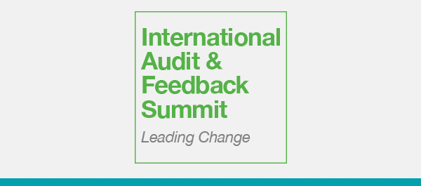 International Audit and Feedback Summit logo