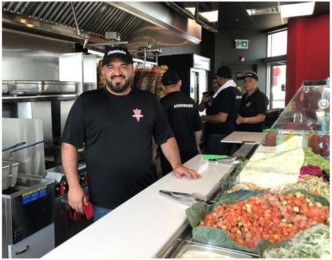 Luai Anton, Owner, Shawarma Box