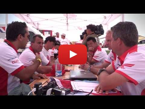 Team HRC Dakar Rally 2015 - Stage 7 Behind  the Scenes