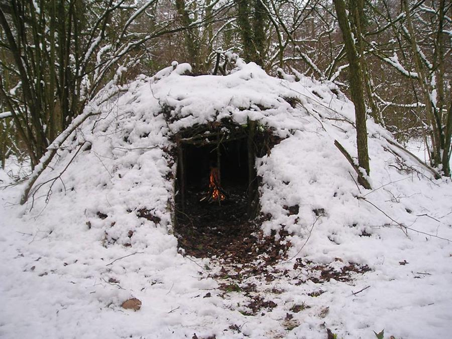 Winter group shelter