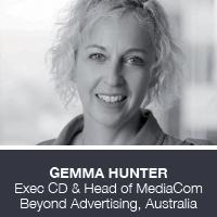 Gemma Hunter, Exec CD & Head of MediaCom Beyond Advertising, Australia