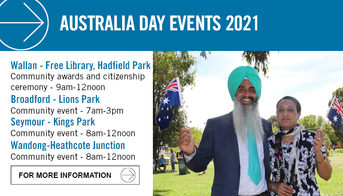 Australia Day events for Mitchell Shire