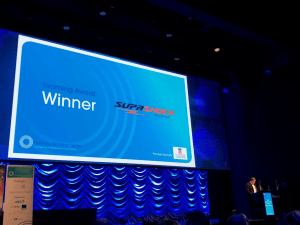 Supashock received the 'Outstanding Collaboration' award from DTC. Supashock.