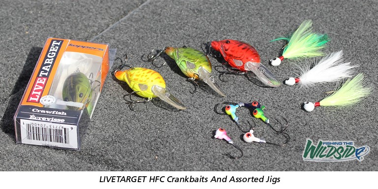LIVETARGET HFC Crankbaits and Assorted Jigs