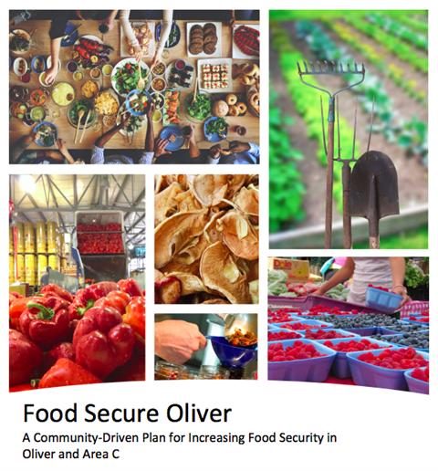The presentation of Food Secure Oliver
