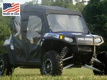 Polaris Ranger RZR4 Full Cab Enclosure for Hard Windshield by GCL UTV