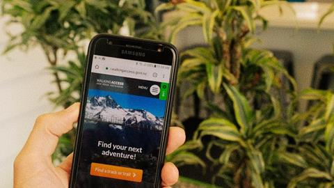 Find My Adventure nominated for geospatial award