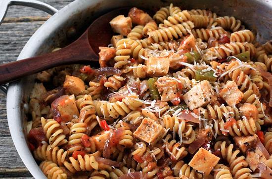One pot chicken & pasta