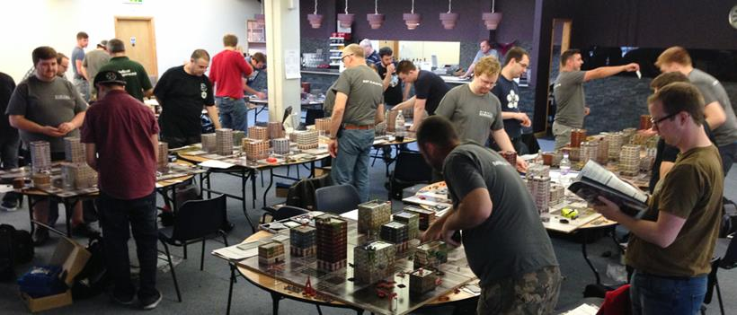 In the midst of games, Autumn Invasion 2014, Dropzone Commander, Hawk Wargames