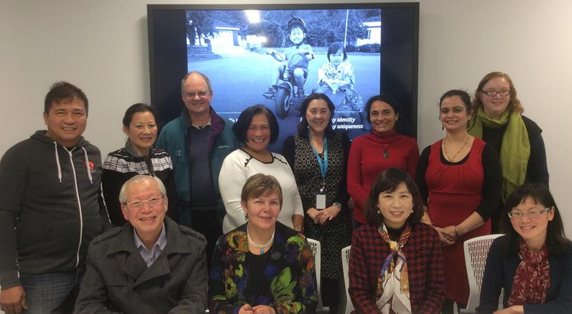 Image of participants from the Christchurch Workshop