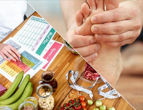 Podiatry and dietetics
