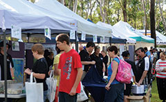Image of Ecofest stalls from 2013 event