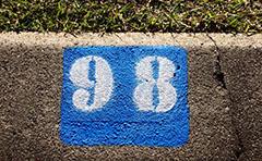 Kerb numbering