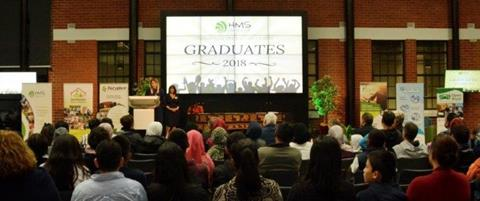 Image of attendees to the graduation