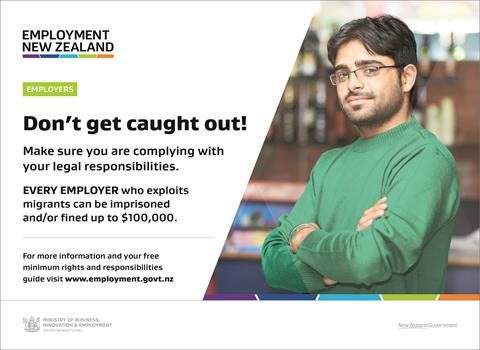 Employment NZ web page - Don't get caught out!