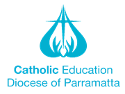Catholic Education Diocese of Parramatta logo