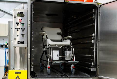 Posture Tech equipment sterilisation