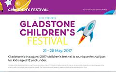 Gladstone Children's Festival banner