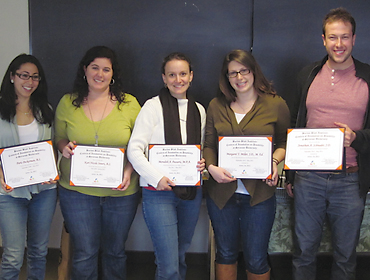 BBI honors graduating research assistants and interns