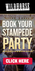 Ad: Wildhorse Saloon – Book your Stampede party